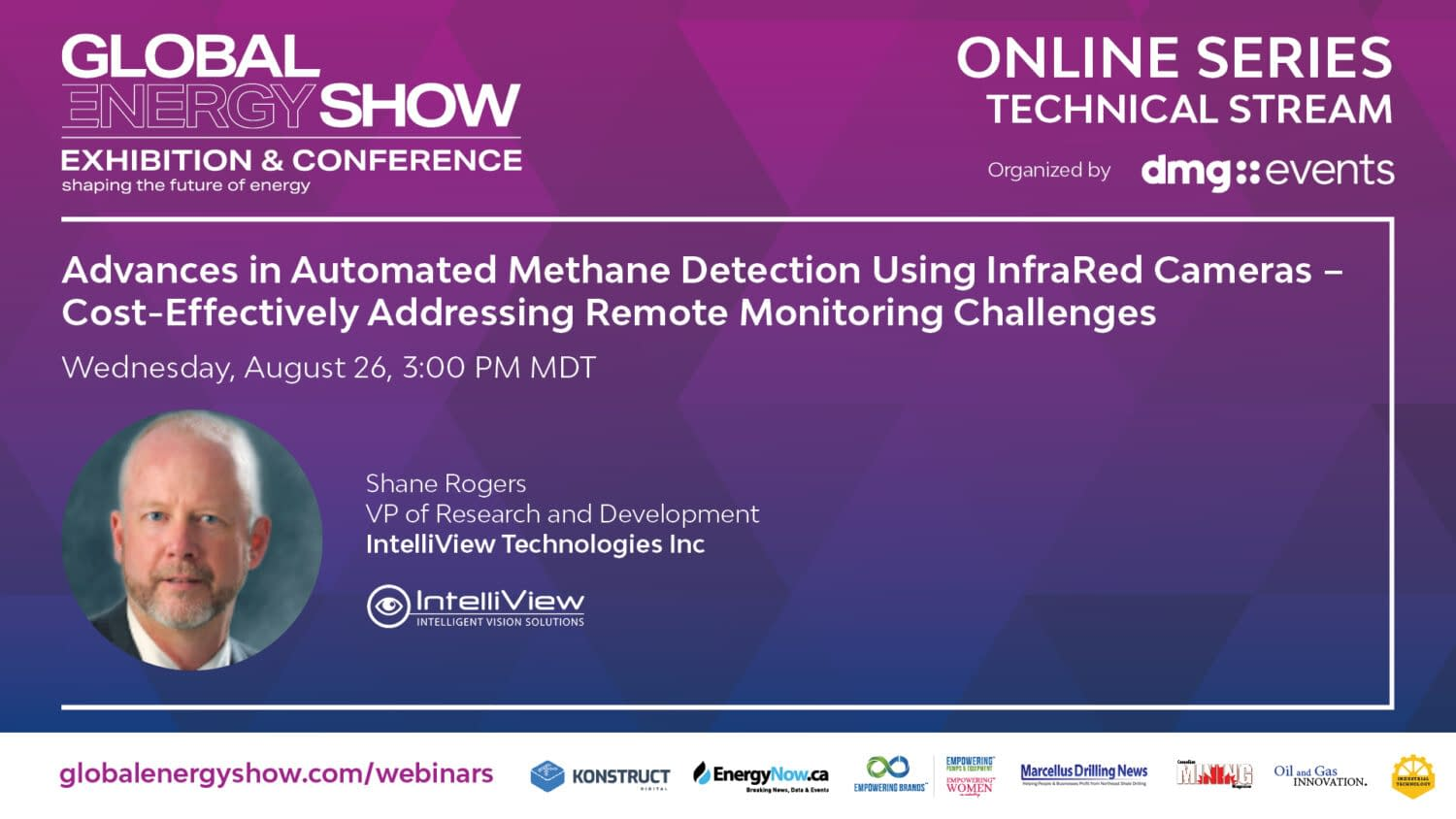 Global Energy Show Webinar - Advances in Automated Methane Detection Using Infrared Cameras