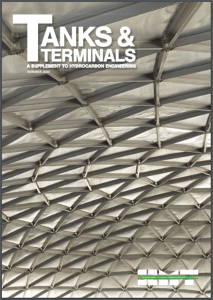 Tanks and Terminals magazine june 2020 issue cover